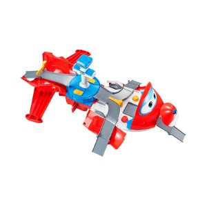 Super Wings Playset Torre De Decolagem Do Jett 2 Em 1 - Fun Divirta-se