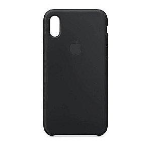 Capa Iphone XR Silicone Case Apple Preto