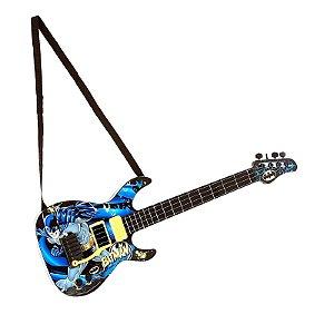 Guitarra Infantil Batman Cavaleiro Das Trevas 80805 - Fun