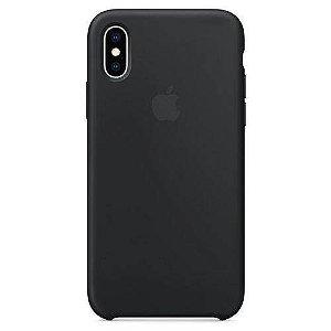 Capa iPhone XS Max Apple Silicone Preto