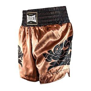 Shorts de Muay Thai Cetim MT13 Dragão Goldem Rudel Sports Tamanho P