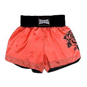 Shorts de Muay thai Cetim Mellon Rudel Sports Tamanho M