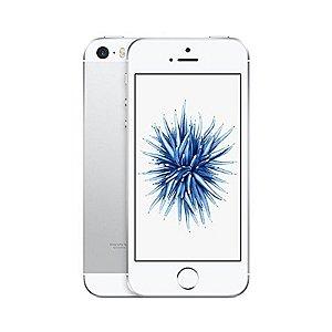 "Iphone Se 16GB Prata 4G Tela 4"" Apple"