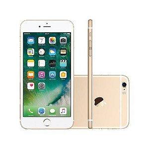 iPhone 6 Plus 16gb Dourado, Tela de 5.5', Camera 8Mpx, Processador A8, Touch ID