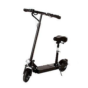 """Patinete Elétrico Scooter Dobrável Motorizado 8,5"""" Polegadas Com Bateria Recarregável e Assento"""