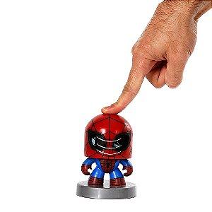 Boneco Homem Aranha Funko Pop Spider Man Mighty Muggs Vingadores Marvel