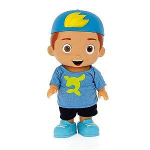 Boneco Youtuber Luccas Neto Azul 25 cm