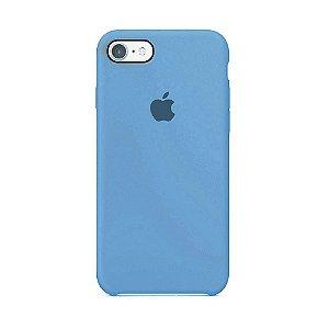Capa para iPhone 6 e 6s em Silicone Apple Azul