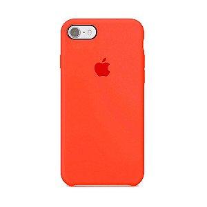 Capa para iPhone 6s Plus em Silicone Apple Laranja