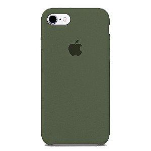 Capa Iphone 7/8 Silicone Case Apple Cinza