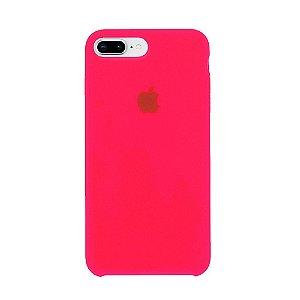 Capa Iphone 7/8 Plus Silicone Case Apple Pink