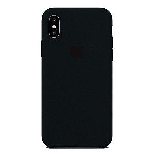 Capa Iphone X Silicone Case Apple Preto