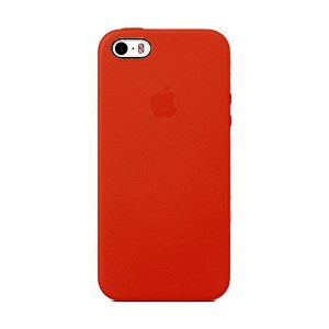 Capa Iphone SE Silicone Case Apple Vermelho