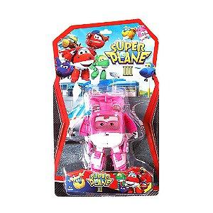 Brinquedo Boneco Personagem Super Wings Dizzy Transforme