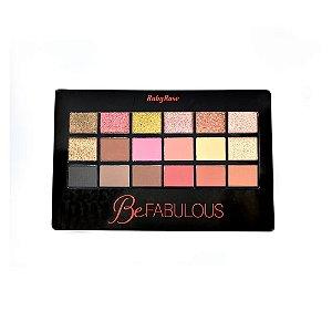 Paleta De Sombras Be Fabulous Ruby Rose HB-9931