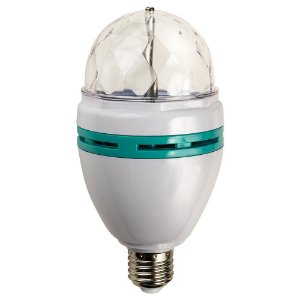 Lâmpada Decorativa LED Colorida Dico Light Para Festas