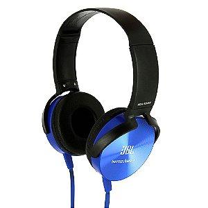 Fone De Ouvido Stereo Super Bass Headset XB-450 Azul