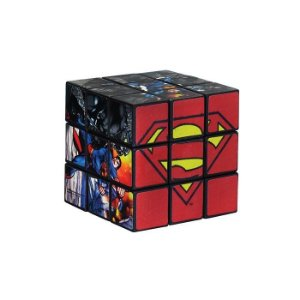 Brinquedo Cubo Mágico Super Homem Infantil - Art Brink