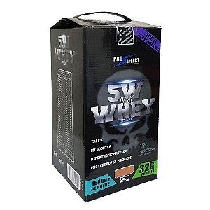Whey Protein Premium 5W Suplemento Dark Insane 2Kg - Baunilha - Pro Effect