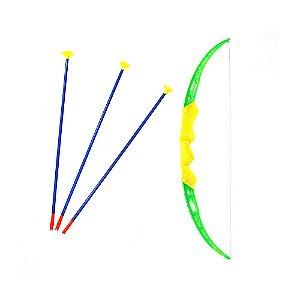 Super Kit Arco E Flecha Tiro Ao Alvo Brinquedo Infantil + Alvo