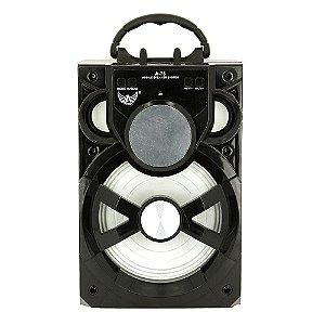 Caixa De Som Alto Falante Móvel Com Luz De LED - A-76 - Altomex