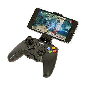 Controle Estilo Vídeo Game Bluetooth Gamepad Para Jogos De Celular PUBG e Freefire CON-142B - Inova