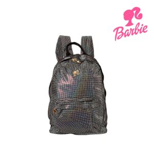 Mochila Barbie Infantil Escolar Super Brilhante