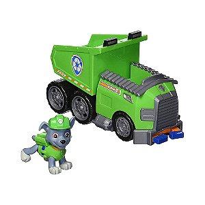 Patrulha Canina Caminhão De Reciclagem Rocky's Reciycle Dump Truck Paw Patrol