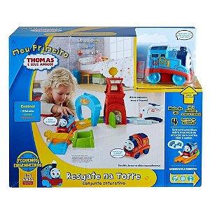 Brinquedo Infantil Meu Primeiro Thomas Resgate Na Torre  Thomas E Seus Amigos - FVL70
