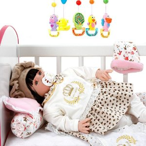 Boneca Bebê Reborn Meu Xodo Princesa Larinha 53cm com 20 acessórios