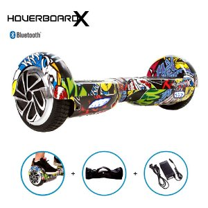 Hoverboard Skate Elétrico 6,5 Hip-Hop Barato Bluetooth Led