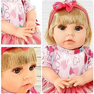 Brinquedo Infantil Boneca Isadora Coleção Doll Realist Sid-N