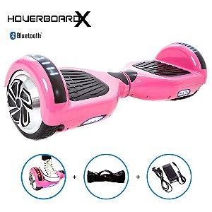 Hoverboard 6,5 Polegadas Rosa HoverboardX Smart Balance