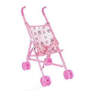 Brinquedo Infantil Carrinho De Boneca Dobrável Para Menina