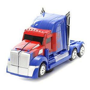 Brinquedo Caminhão Optimus Prime Robot Transformers