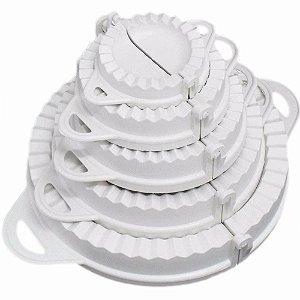 Kit Com 5 Formas de Pastel e Risole De Diferentes Tamanhos