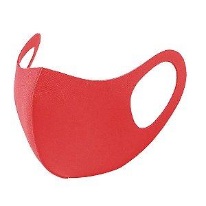 1 Máscara Laváveis Reutilizável Vermelha Cuidado Pessoal