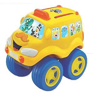 Carro de Brinquedo Fofomóvel Vinil Macio Mundo Bita - Lider
