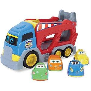 Brinquedo Infantil Caminhão Cegonha Baby Cargo - Big Star