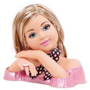 Brinquedo Boneca Infantil Charmosa para Pentear Cotiplás