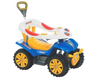 Andador Dudu Car Style Infantil Com Haste Biemme 718