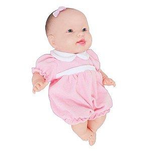 Boneca Bebe Reborn Recém Nascida Cheirinho De Bebê 36cm