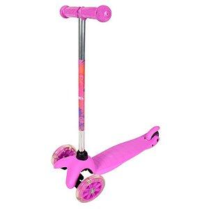 Brinquedo Patinete Twist Infantil Bel Fix Com 3 Rodas Rosa