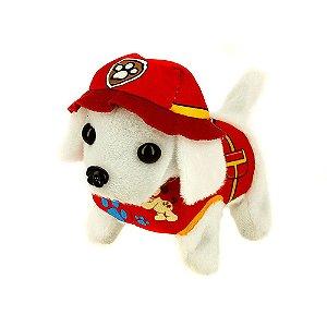 Brinquedo Infantil Patrulha Canina Cachorrinho Marshall Com