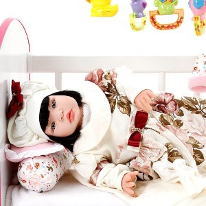 Boneca Bebe Reborn Grazi Creme Cegonha Reborn Dolls