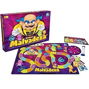Brinquedo Infantil Jogo Senhor Malvadeza Top Line Pais Filho