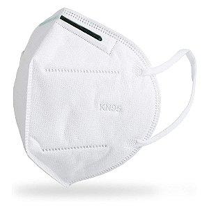 Máscara Descartável KN95 Proteção Pessoal com Clip Branca