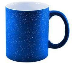Caneca Magica Azul Sky c/ Glitter