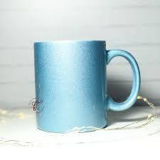 Caneca Perolizada Azul p/ Sublimação 325ml