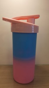 DUPLICADO - Squeeze Plastico Degrad Tampa Amarela 500ml - Transfer Laser
